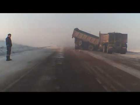 Сибай-Магнитогорск юлында ете автомобиль бәрелешкән