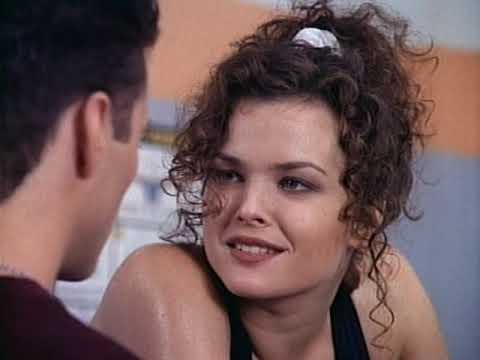 Dina Meyer Working Out On Beverly Hills 90210 4x08 Part 3