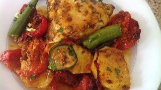 market djej fil fornمرقت دجاج في الفرن  مطبخ ليلى بن الازهر