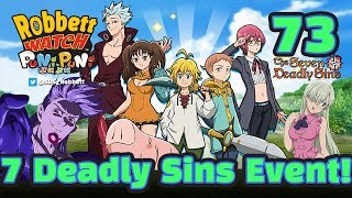 Yo-kai Watch Puni Puni #73: 7 Deadly Sins! SSS Demon Meliodas! Ban! King! Robbett Watch