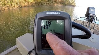 Locating Crappie With A Depth Finder - How To Find and Catch Crappie
