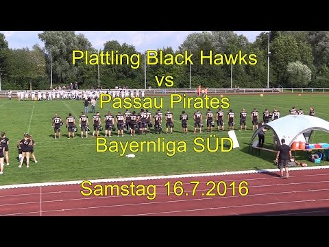 Plattling Black Hawks vs Passau Pirates 16.7.2016