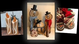 Wooden Christmas Decorations Ideas. Crafts to Make and Sell