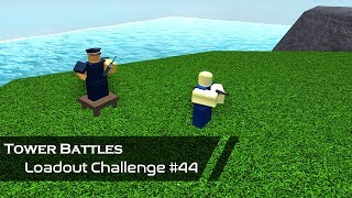 Scout Support | Loadout Challenge #44 | Tower Battles [ROBLOX]