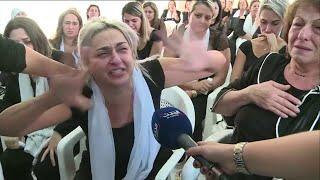 شاهد صرخة زوجة الضحية في لبنان علاء ابو فخر