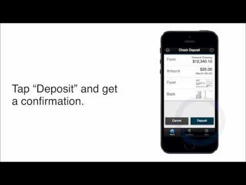 Landmark Credit Union - Mobile Deposit Demo