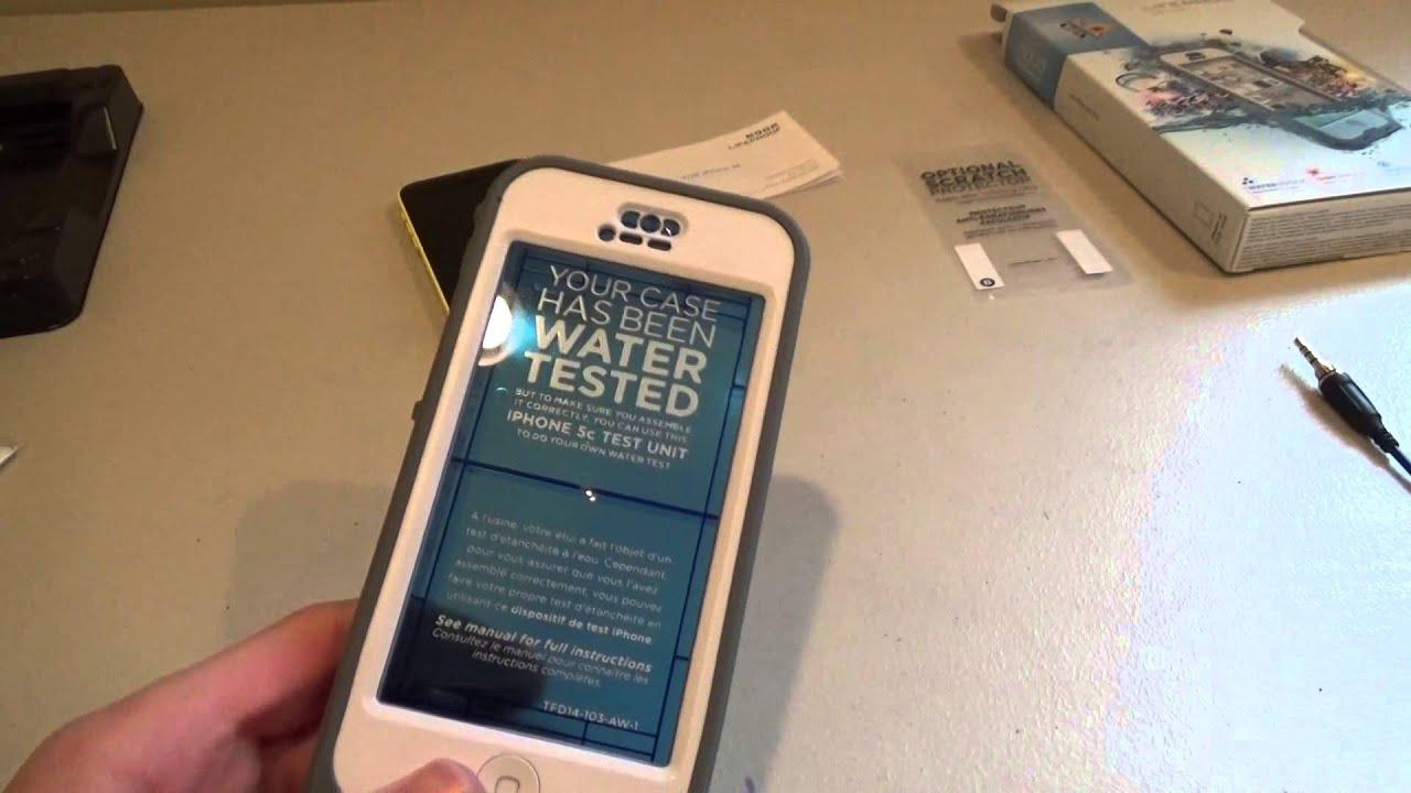 Iphone 5c Lifeproof Case Nuud Youtube