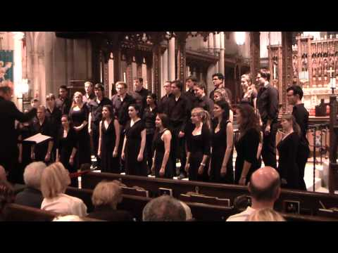 The Heavens' Flock (Ēriks Ešenvalds) - Trinity College Choir, USA Tour 2015