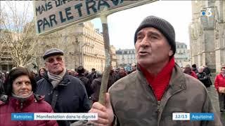A Bordeaux et à Bayonne, les retraités manifestent contre la hausse de la CSG