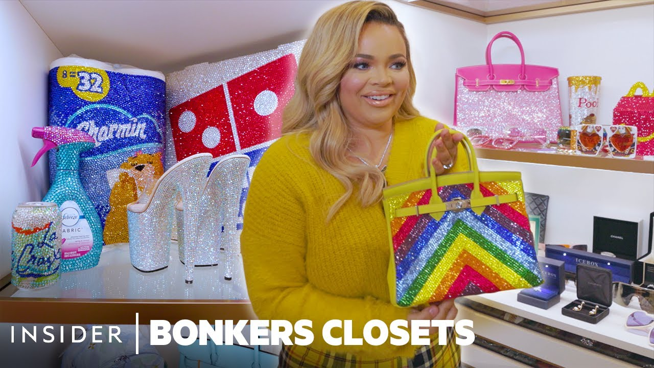 Download Blinged-Out Birkins, Toilet Paper, And Stripper Heels In Trisha Paytas' $500K Closet