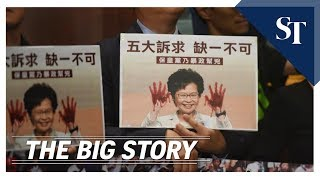 THE BIG STORY: Carrie Lam heckled while giving annual policy address | The Straits Times
