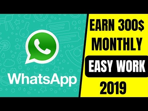 How To Earn Money From Whatapp 2019 | Earn Money From Whatsapp | Earn Money Online
