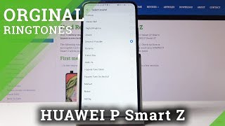 How to Change Ringtone in HUAWEI P Smart Z – Ringtone List