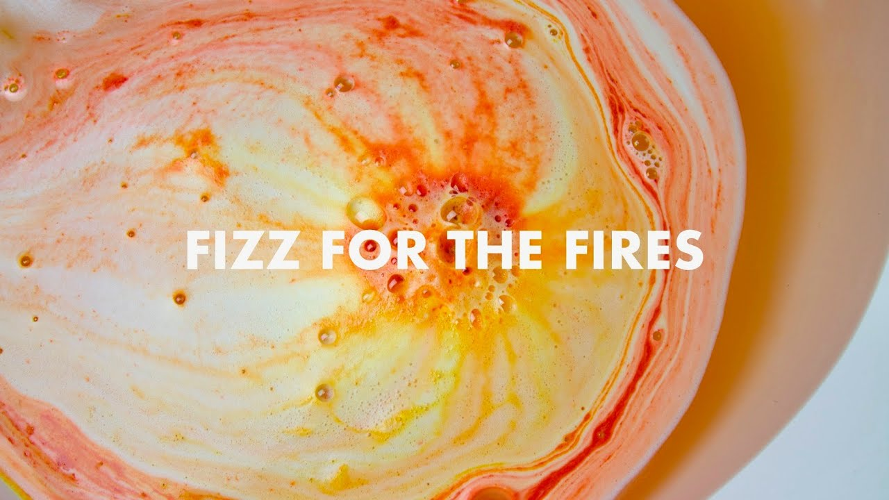 The Making of Fizz for the Fires Bath Bomb