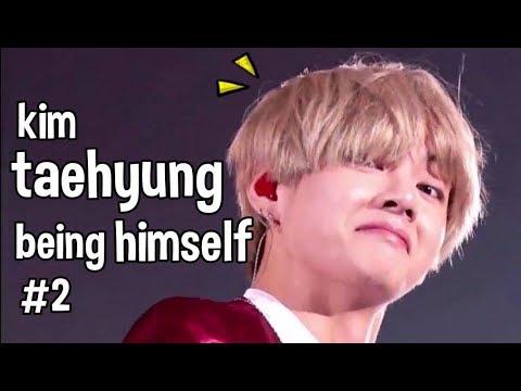 Kim Taehyung being himself #2