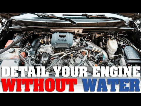 How to clean your engine without water