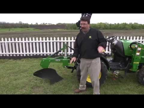 Using A One-Bottom Plow
