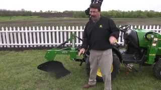 John Deere Frontier Equipment: Notes from the Field - Using a One-Bottom Plow