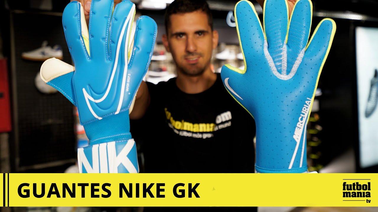 zapatos para correr 100% de satisfacción zapatos para baratas Guantes de portero NIKE GK - YouTube