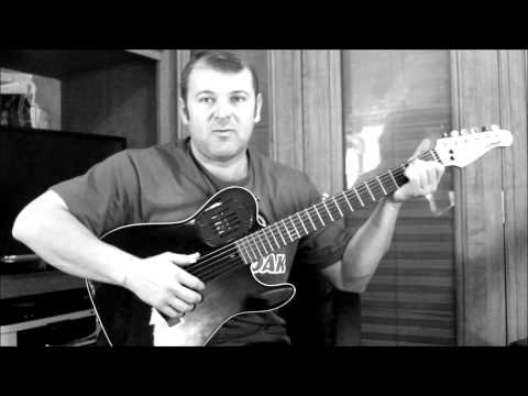 Thumb picking, Chet Atkins style