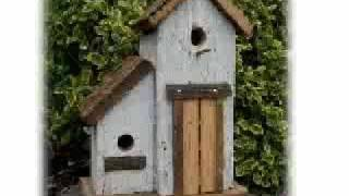 Barnwood Birdhouses