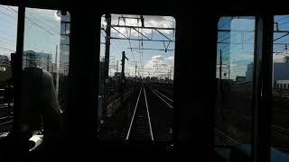 313系Y102編成特別快速豊橋行名古屋➥金山前面展望
