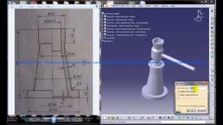 Catia V5 Tutorial|product Engineering Design|how To Create Screw Jack Assembly|body-part 1