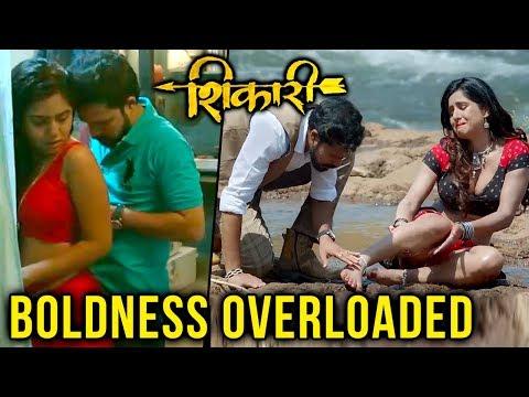 Shikari   Adult Comedy   Latest Marathi Movie   Suvrat Joshi, Neha Khan & Mrunmayee Deshpande