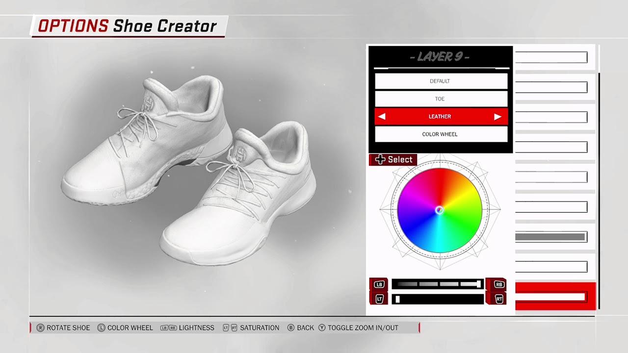 NBA 2K18 Shoe Creator - Adidas Harden 1