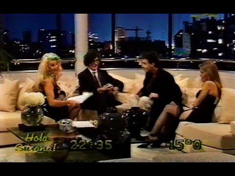 Charly García y Pedro Aznar con Susana Gimenez 2 canciones - 1991