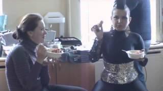Nilufar Usmonova - klip haqida klip (Ana ana)