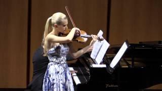 Anastasiya Petryshak - Lorenzo Meo - J.Brahms - Sonata n.3 in re minore, op.108 - Allegro