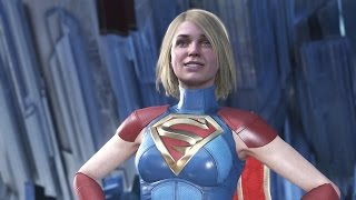 Injustice 2 : Supergirl All Intro Dialogues