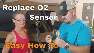 How To Replace O2 Sensor     Jeep Sputtering E01