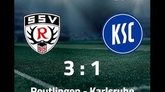 SSV Reutlingen 3-1 Karlsruher SC - DFB Pokal Highlights [HD+]