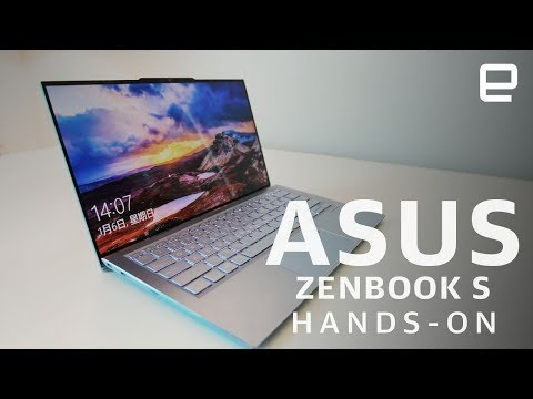 Asus ZenBook S13 Hands-On: The thinnest bezels available right now at CES 2019
