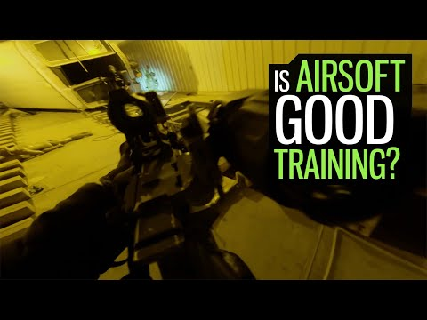 Are Airsoft Events Good Training?