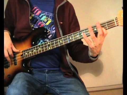 Rupert Holmes - Escape (The Piña Colada Song) - Bass Cover