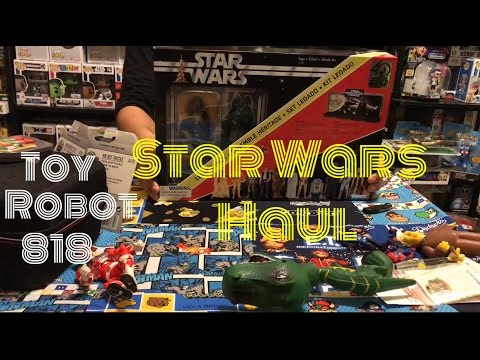 TOY HUNTING...MARVEL LEGENDS, FUNKO POPS, STAR WARS 40th ANNIVERSARY HAUL PLUS UNBOXING