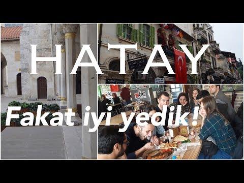 Hatay VLOG | Hatay+Gaziantep Vlogu Bölüm 1