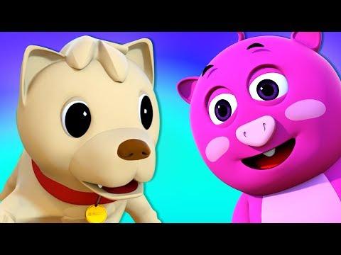 Bingo Song | Farmer's Loyal Dog | Nursery Rhymes by All Babi