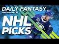 NHL DFS Strategy - Mon 10/28