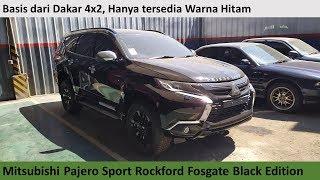 Mitsubishi Pajero Sport Dakar Rockford Fosgate Black Edition review - Indonesia