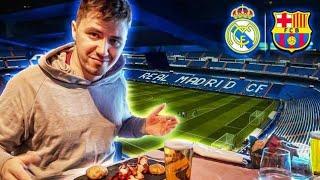 Niesamowity WYJAZD na EL CLASICO! (Real vs. Barcelona)