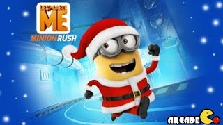 Despicable Me 2: Funny Minion Santa Run in Vector's Fortress