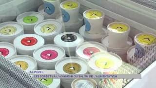 Alperel : les sorbets à l'honneur du salon de l'alimentation