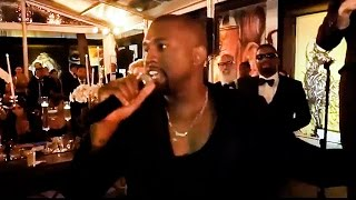 Kanye West Parodies His MTV Moment & Steals The Mic at a Wedding