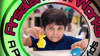Animals Toy review | Kids play zone| Arsalan fun works | Animals for kids