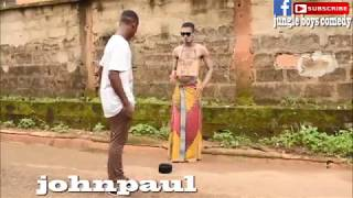 When you try to steal the money meant for a statue (Xploit comedy) (akpan and oduma) (Real house)