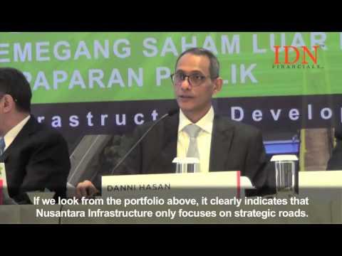 Nusantara Infrastructures project portfolio 2015.